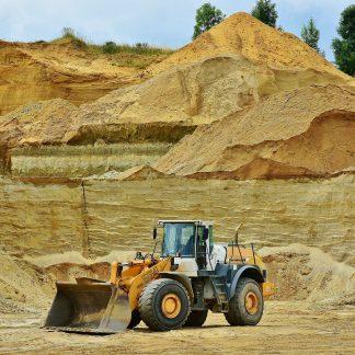 open pit mining