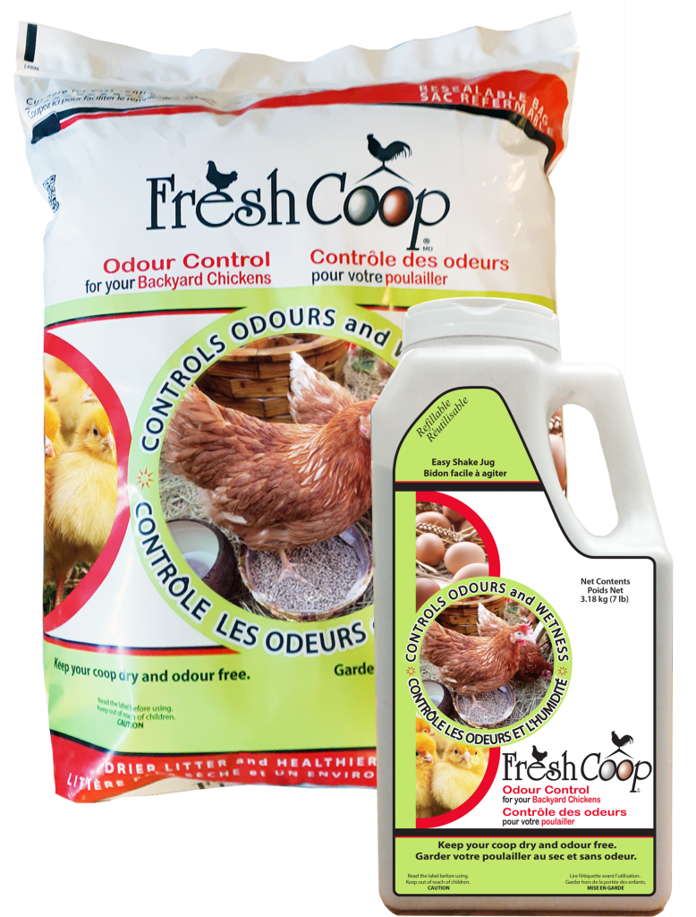 Fresh Coop Odour Control for your Backyard Chickens
