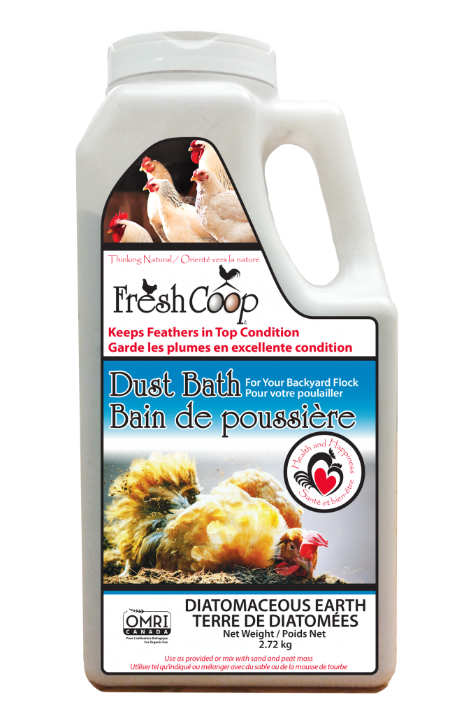 Fresh Coop Dust Bath for Chickens - Canada
