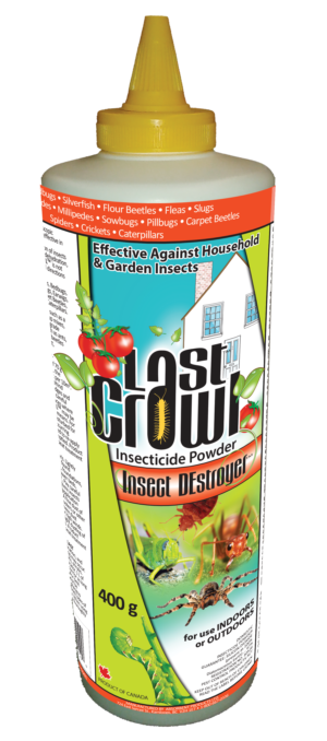 Last Crawl Insect DE-Stroyer 400 g Diatomaceous Earth Powder