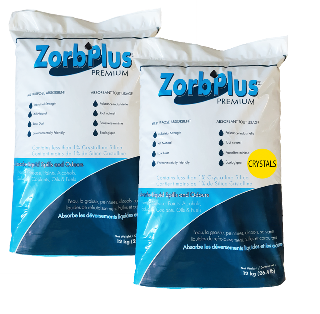 ZorbPlus Coarse and Crystal Granulations