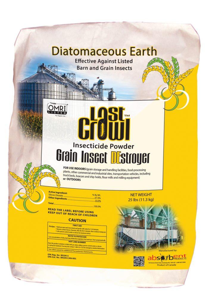 Last Crawl Grain Insect DE-Stroyer
