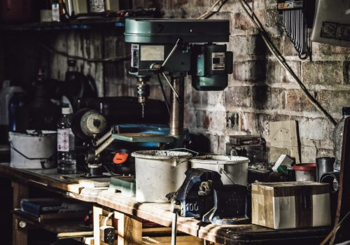 Garage tools and fluids